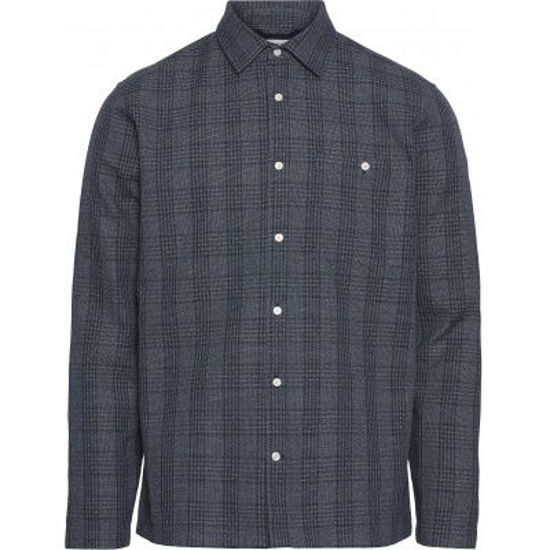Billede af KNOWLEDGE LONG SLEEVE CHECKED SHIRT 90787