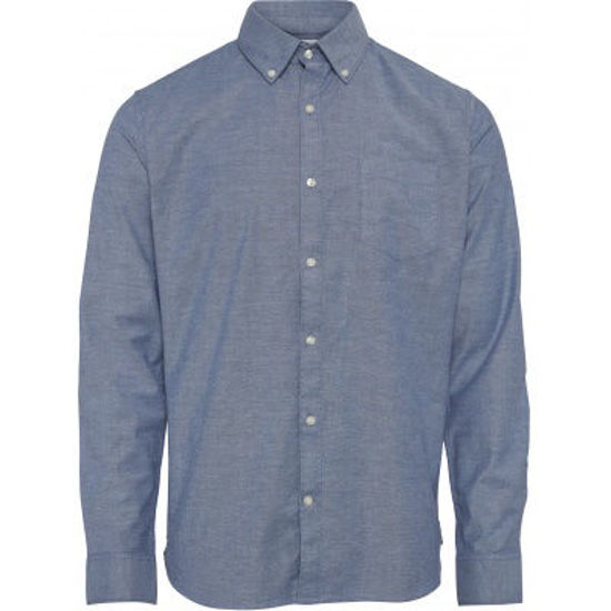 Billede af KNOWLEDGE ELDER OXFORD SHIRT 90680