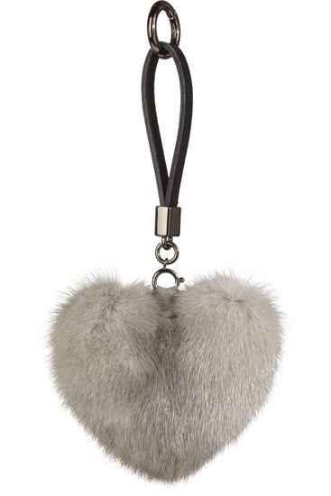 Billede af NATURES COLLECTION HEART KEYRING